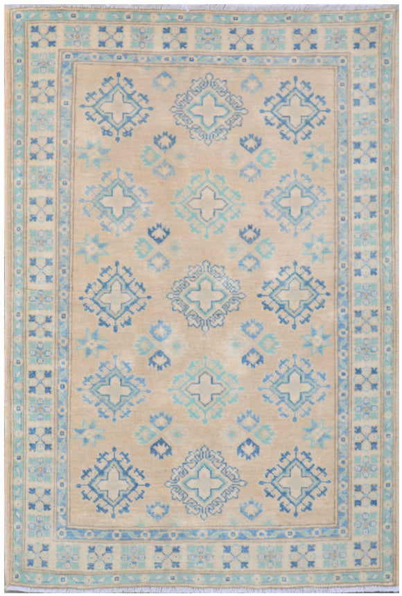 Handmade Sultan Collection Hallway Rug | 148 x 102 cm - Najaf Rugs & Textile