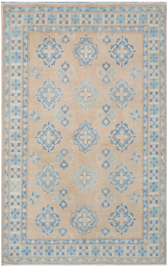 Handmade Sultan Collection Hallway Rug | 152 x 100 cm - Najaf Rugs & Textile