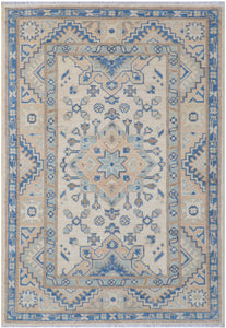 Handmade Sultan Collection Hallway Rug | 121 x 83 cm - Najaf Rugs & Textile
