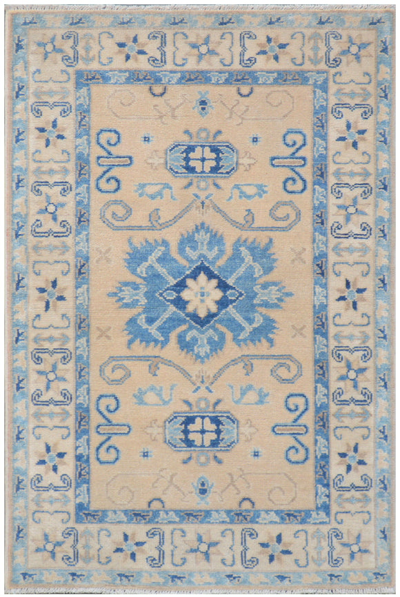 Handmade Sultan Collection Hallway Rug | 122 x 81 cm - Najaf Rugs & Textile