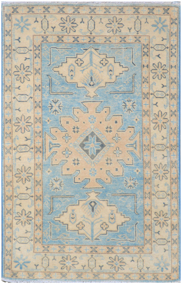 Handmade Sultan Collection Hallway Rug | 126 x 81 cm - Najaf Rugs & Textile