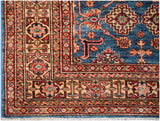 Handmade Traditional Super Kazakh Rug | 227 x 175 cm
