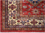 Handmade Traditional Super Kazakh Square Rug | 182 x 183 cm