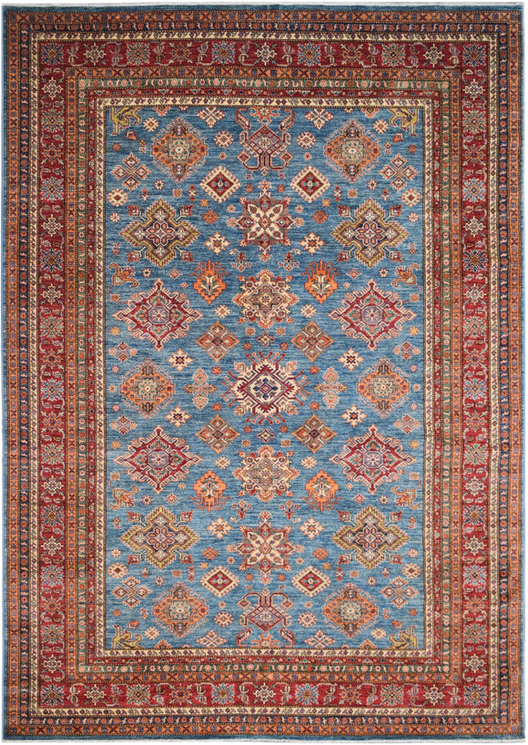 Handmade Traditional Super Kazakh Rug | 385 x 270 cm
