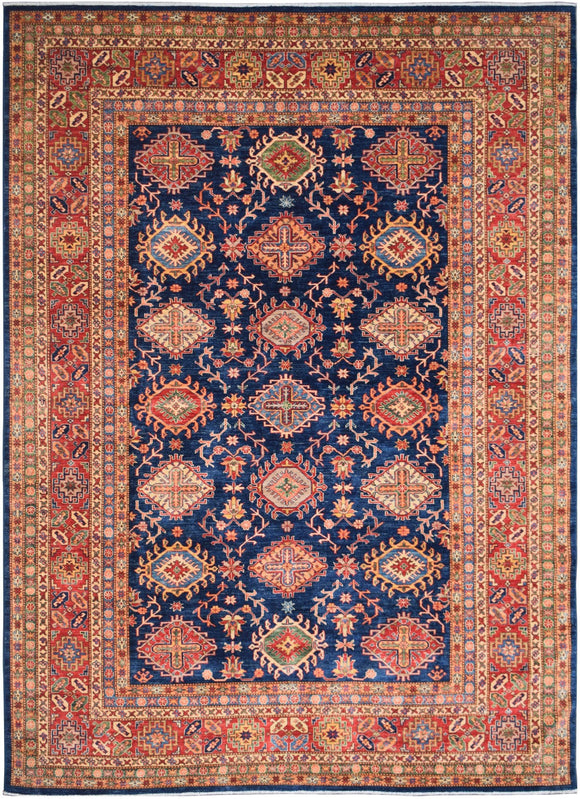 Handmade Traditional Super Kazakh Rug | 358 x 273 cm