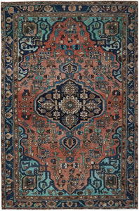 Handmade Tribal Abrash Collection Rug | 204 x 131 cm