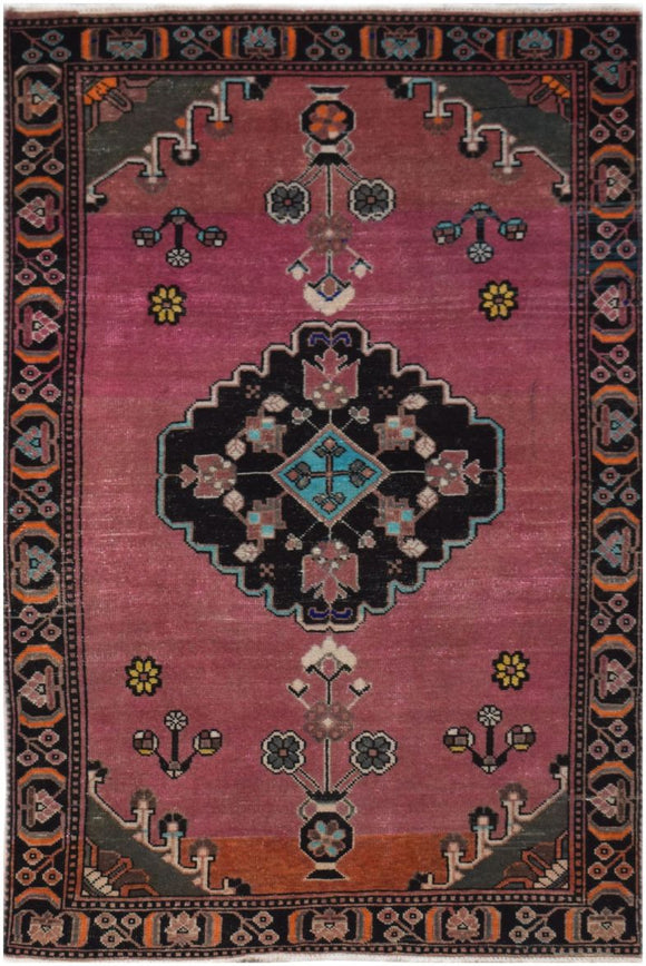 Handmade Tribal Abrash Collection Rug | 195 x 119 cm | 6'3