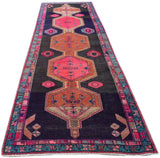 Handmade Tribal Abrash Collection Hallway Runner | 396 x 121 cm | 13' x 4'