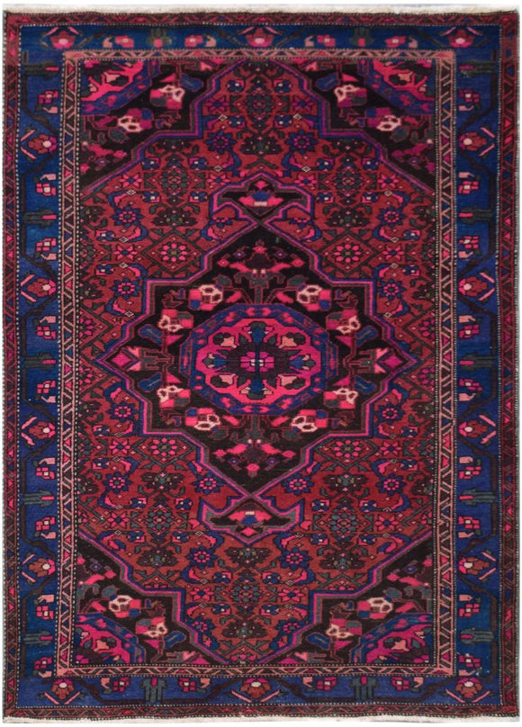 Handmade Tribal Abrash Collection Rug | 211 x 136 cm | 6'9