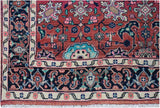 "Handmade Tribal Abrash Collection Rug | 275 x 119 cm | 9'1"" x 3'11"""