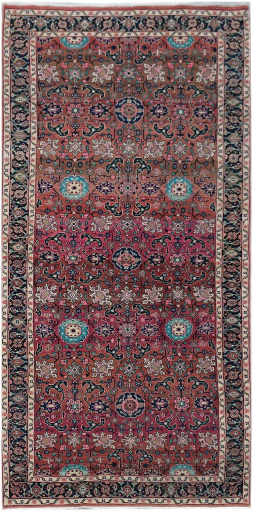 Handmade Tribal Abrash Collection Rug | 275 x 119 cm