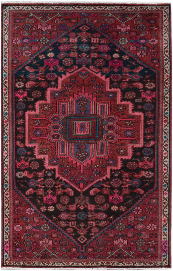 Handmade Tribal Abrash Collection Rug | 167 x 101 cm | 5'4