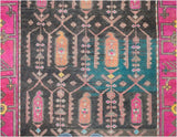 Handmade Tribal Abrash Collection Hallway Runner | 312 x 106 cm