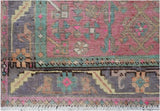 Handmade Tribal Abrash Collection Hallway Runner | 361 x 99 cm