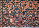 "Handmade Tribal Abrash Collection Hallway Runner | 389 x 93 cm | 12'10"" x 3'1"""