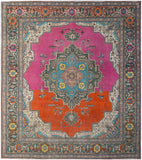 Handmade Tribal Abrash Collection Rug | 327 x 295 cm