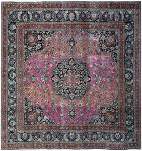 Handmade Tribal Abrash Collection Rug | 297 x 292 cm