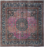 "Handmade Tribal Abrash Collection Rug | 297 x 292 cm | 9'9"" x 9'7"""