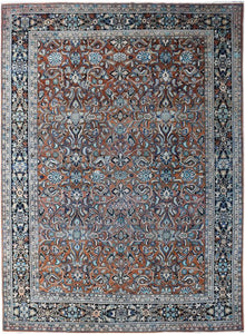 Handmade Tribal Abrash Collection Rug | 402 x 307 cm
