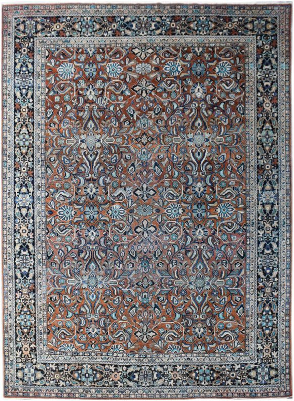 Handmade Tribal Abrash Collection Rug | 402 x 307 cm | 13'2 x 10'
