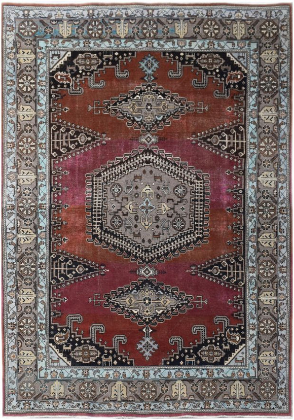 Handmade Tribal Abrash Collection Rug | 309 x 209 cm | 10'1