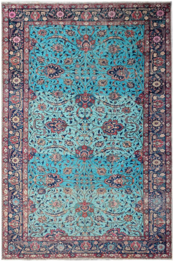 Handmade Tribal Abrash Collection Rug | 297 x 197 cm | 9'9