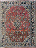 "Handmade Tribal Abrash Collection Rug | 307 x 210 cm | 9'10"" x 6'10"""