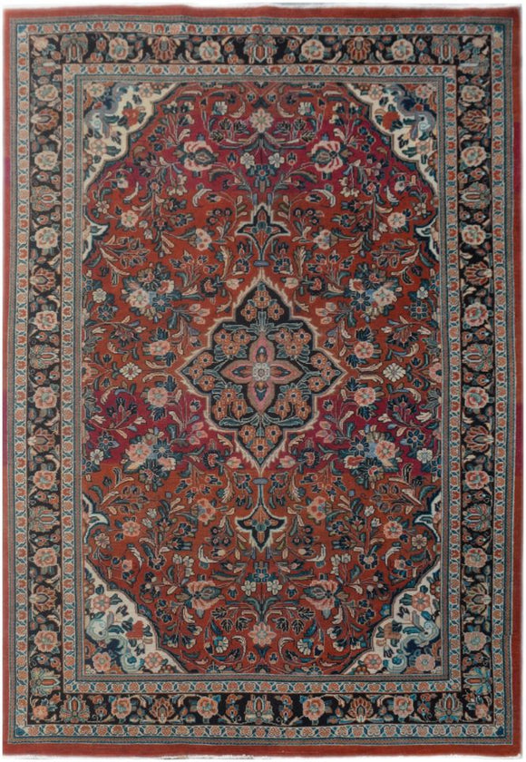 Handmade Tribal Abrash Collection Rug | 311 x 210 cm | 10'2