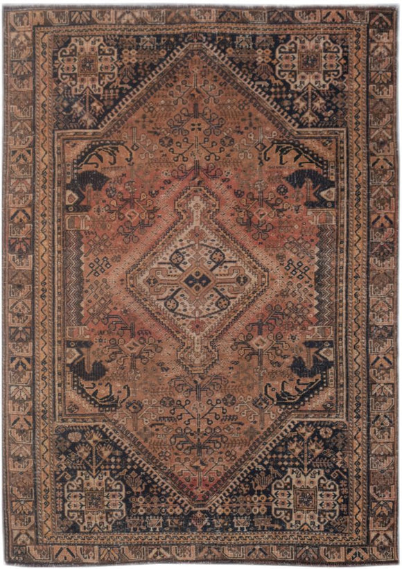 Handmade Tribal Abrash Collection Rug | 240 x 174 cm