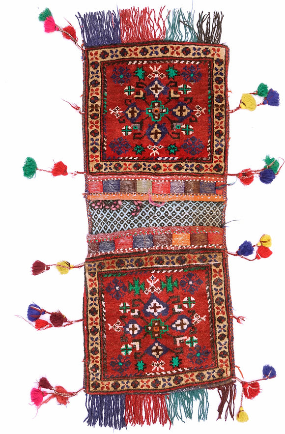 Handmade Tribal Saddle Bag | 115 x 46 cm - Najaf Rugs & Textile
