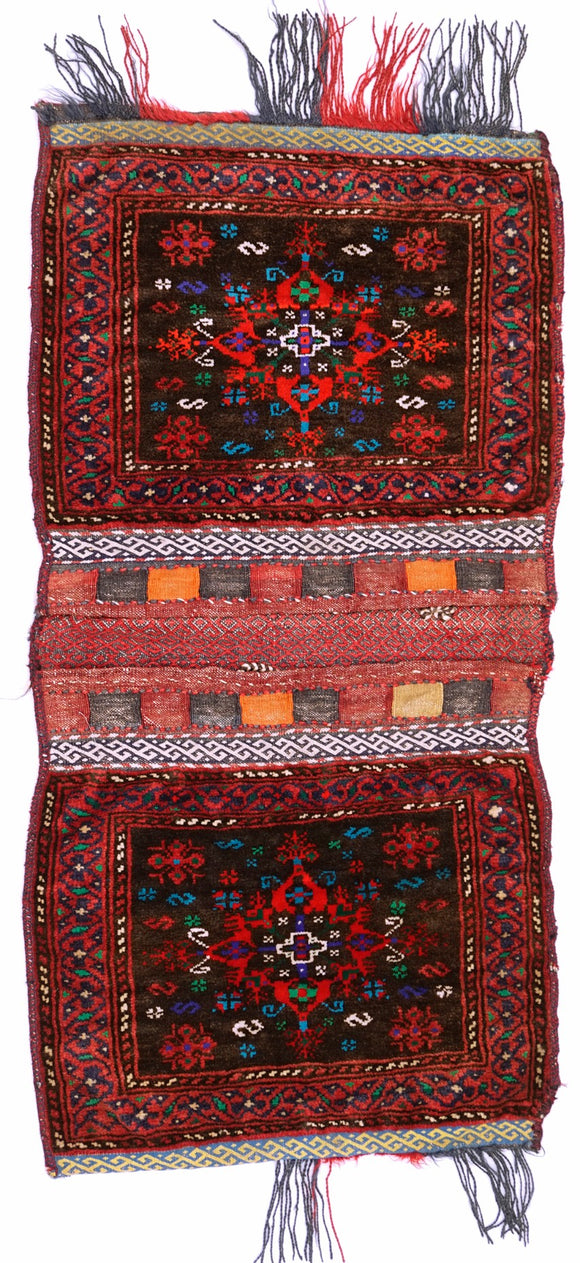 Handmade Tribal Saddle Bag | 113 x 40 cm - Najaf Rugs & Textile