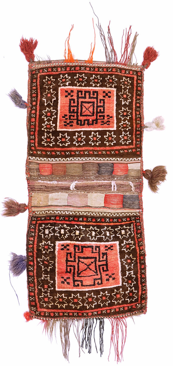Handmade Tribal Saddle Bag | 103 x 52 cm - Najaf Rugs & Textile