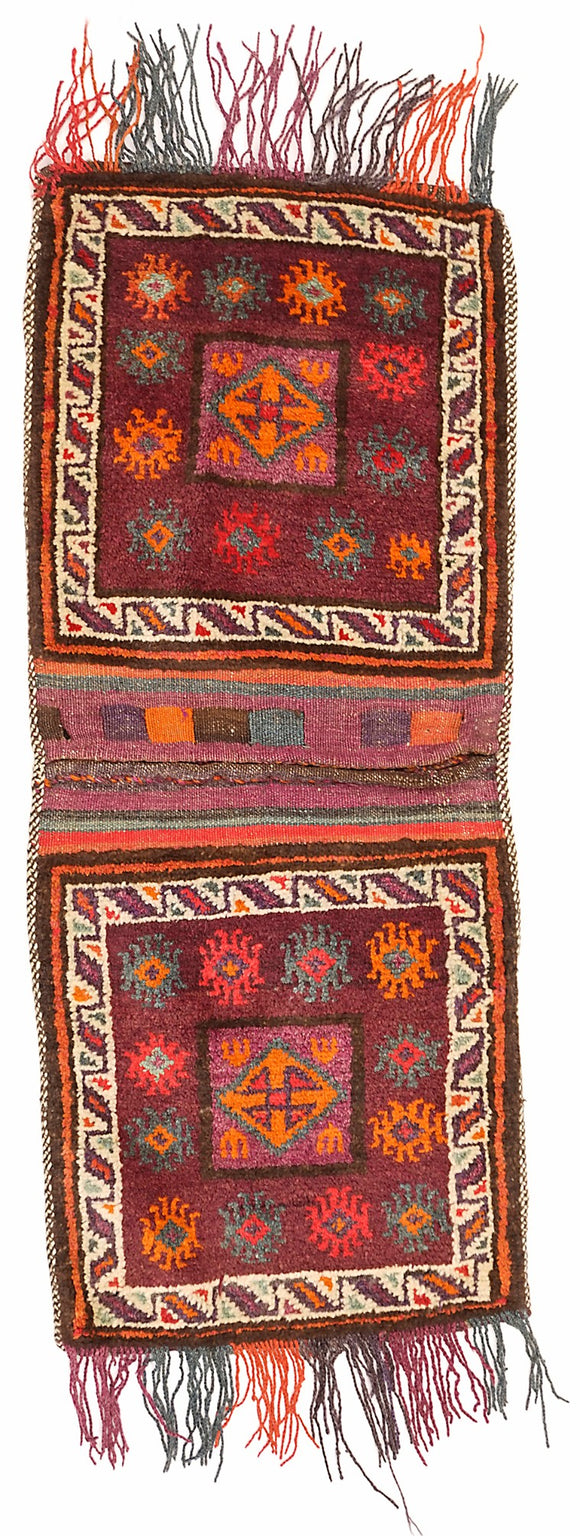 Handmade Tribal Saddle Bag | 112 x 52 cm