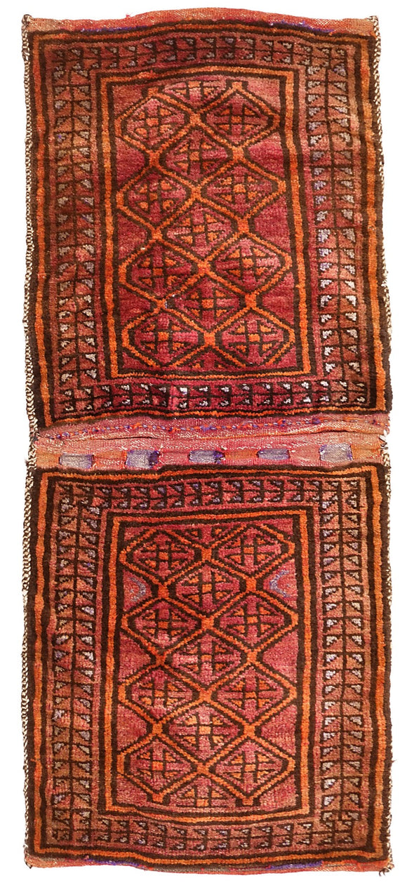 Handmade Tribal Saddle Bag | 110 x 66 cm
