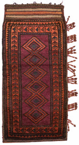 Handmade Tribal Baluch Cushion | 124 x 87 cm