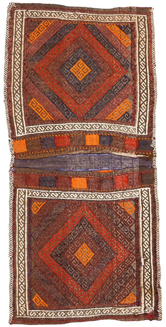 Handmade Tribal Saddle Bag | 107 x 52 cm - Najaf Rugs & Textile