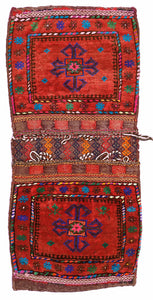 Handmade Tribal Saddle Bag | 110 x 77 cm - Najaf Rugs & Textile