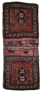 Handmade Tribal Saddle Bag | 110 x 47 cm