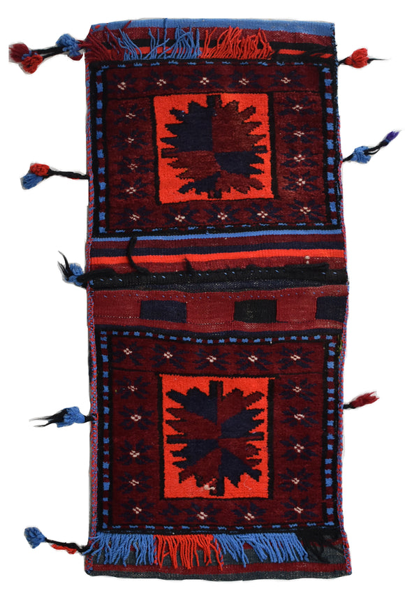 Handmade Tribal Saddle Bag | 99 x 47 cm