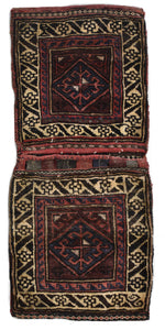 Handmade Tribal Saddle Bag | 102 x 49 cm