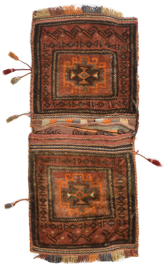 Handmade Tribal Saddle Bag | 102 x 47 cm