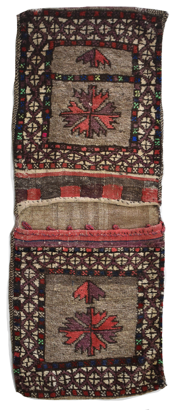 Handmade Tribal Saddle Bag | 128 x 52 cm