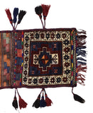 Handmade Tribal Saddle Bag | 104 x 40 cm