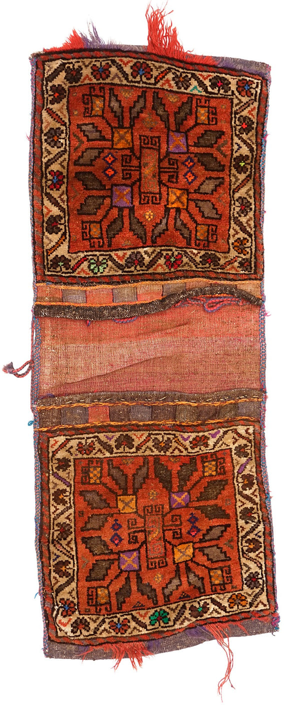 Handmade Tribal Saddle Bag | 100 x 47 cm - Najaf Rugs & Textile