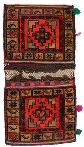 Handmade Tribal Saddle Bag | 125 x 48 cm - Najaf Rugs & Textile