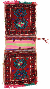 Handmade Tribal Saddle Bag | 108 x 55 cm