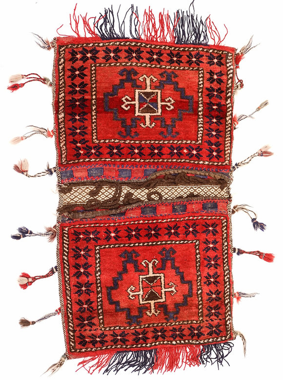 Handmade Tribal Saddle Bag | 102 x 49 cm - Najaf Rugs & Textile