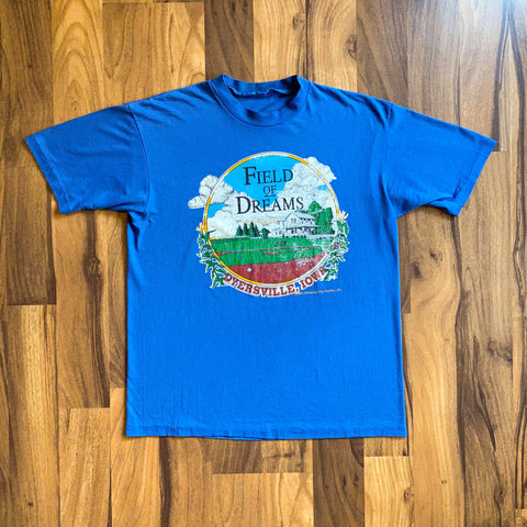 VINTAGE 1991 FIELD OF DREAMS UNIVERSAL CITY STUDIOS MOVIE PROMO T-SHIRT