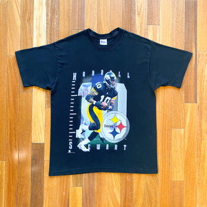 VINTAGE 1995 KORDELL STEWART PITTSBURGH STEELERS NFL PRO PLAYER T-SHIRT