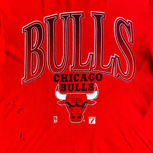 VINTAGE CHICAGO BULLS LOGO 7 NBA GRAPHIC PRINTED T-SHIRT